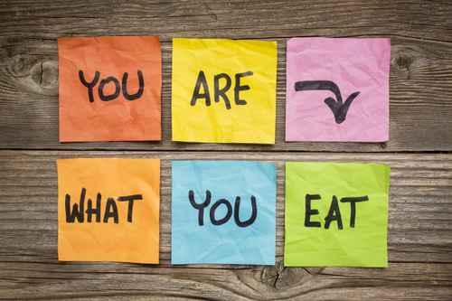Vous êtes ce que vous mangez !